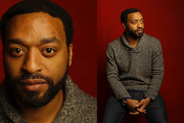 """Z for Zachariah"" star Chiwetel Ejiofor, photographed by Patrick Fraser at TheWrap's Kia photobooth during the 2015 Sundance Film Festival in Park City, Utah on Jan. 23, 2015."