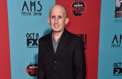 Actor Ben Woolf attends FX's 'American Horror Story: Freak Show' premiere screening at TCL Chinese Theatre on October 5, 2014 in Hollywood, California. (Photo by Frazer Harrison/Getty Images)