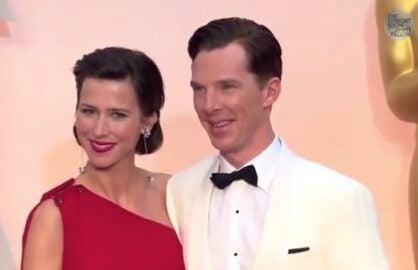 Benedict Cumberbatch Celebrity Whispers Tonight Show