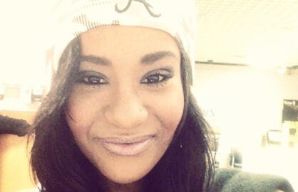 Bobbi Kristina Brown is shown in a picture posted on her Instagram page on Mar. 4, 2013