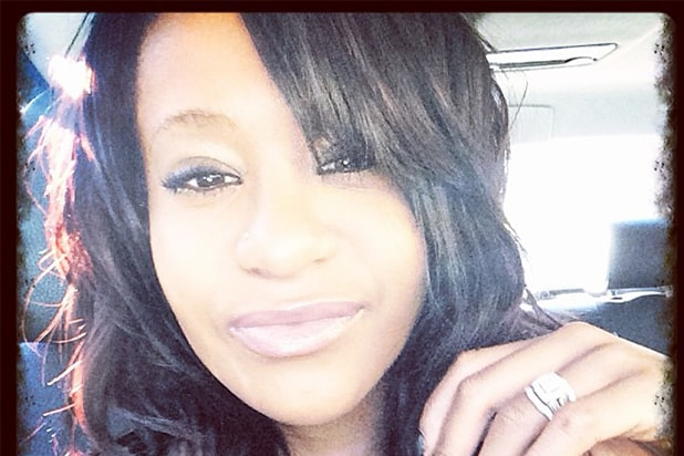 Bobbi Kristina Brown is shown in a photo posted on her Instagram page on Nov. 7, 2013