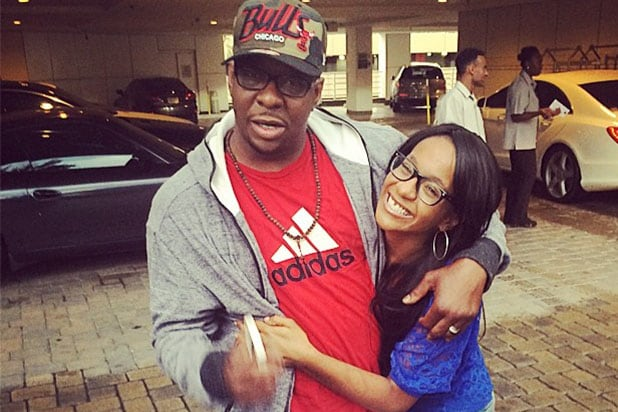 Bobby Brown and Bobbi Kristina Brown are shown together in a photo posted on her Instagram page on June 16, 2014
