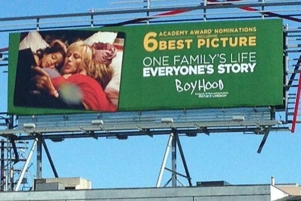 Boyhood billboard