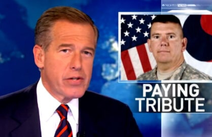 Brian Williams Iraq Helicopter