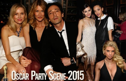 4 Days until the Show. Highlights from Tuesday night's party scene across Hollywood. (Getty Images)