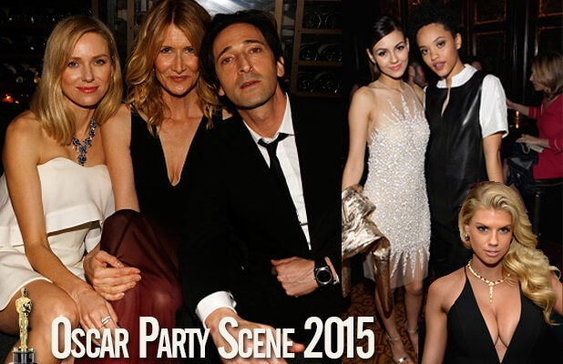 Oscar Party Scene and Heard: Naomi Watts, Victoria Justice ...
