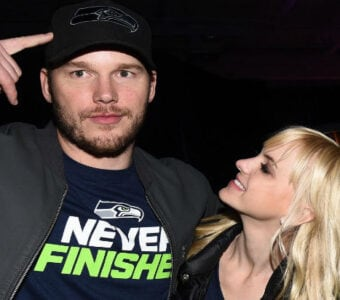 Chris Pratt & Anna Faris/Robin Marchant for Getty Images