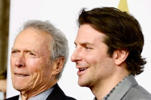 Clint Eastwood, Bradley Cooper (Frazer Harrison, Getty Images)