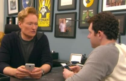 Conan O'Brien Billy Eichner Grindr