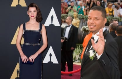Felicity Jones and Terrence Howard