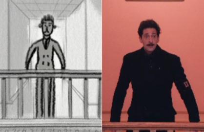 Grand Budapest Hotel animatic