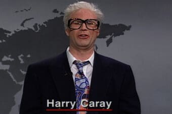 Saturday Night Live Harry Caray Hot Dog