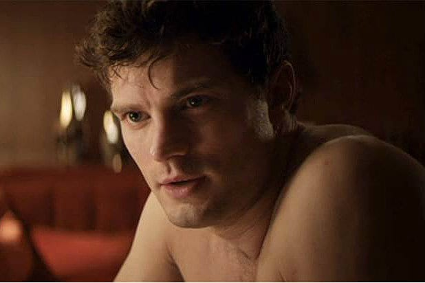 Jamie Dornan Shirtless, Fifty Shades of Grey