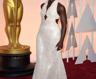 Lupita Oscar Gown Crop