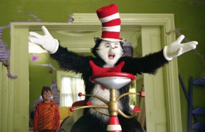 Mike Myers cat in the hat