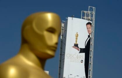 Academy Awards preparations in Hollywood