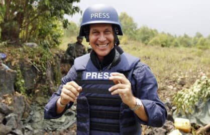 Freed journalist Peter Greste. Credit: aljazeera.com