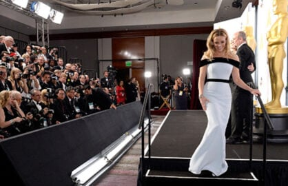 HOLLYWOOD, CA - FEBRUARY 22: Actress Reese Witherspoon poses in the press room during the 87th Annual Academy Awards at Loews Hollywood Hotel on February 22, 2015 in Hollywood, California. (Photo by Kevork Djansezian/Getty Images)