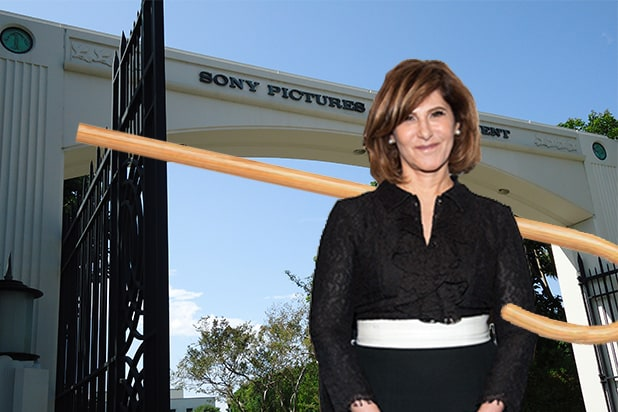amy pascal sony departure