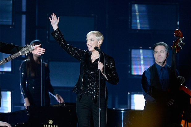 Annie Lennox 'mistaken for new musician' by USA radio station