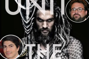 Aquaman, Jason Momoa, Brandon Routh, Kevin Smith