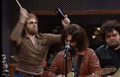 behind the music more cowbell will ferrell snl