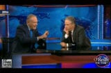 Bill O'Reilly and Jon Stewart (Fox)