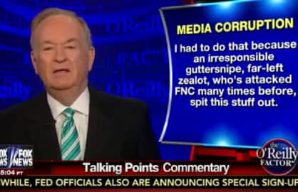 bill oreilly david corn