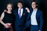 Patricia Arquette, Richard Linklater and Ellar Coltrane at TheWrap's Oscar party