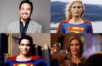 Dean Cain, Helen Slater, Supergirl, Superman