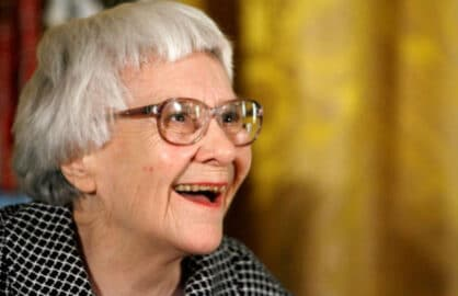 Pulitzer Prize winner and 'To Kill A Mockingbird' author Harper Lee in 2007