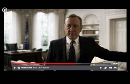 Screenshot of Season 3 episode. (Netflix)