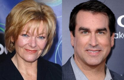 Jane Curtin, Rob Riggle