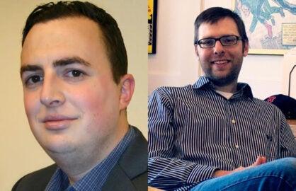 Jeff Nemon, Phil Kobylanski, new Valhalla co-VPs
