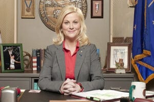 Amy Poehler on Parks and Recreation