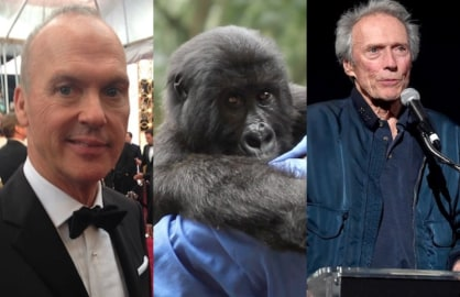 Michael Keaton, Virunga and Clint Eastwood