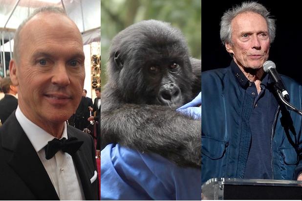 Michael Keaton, Virunga and Clint Eastwood