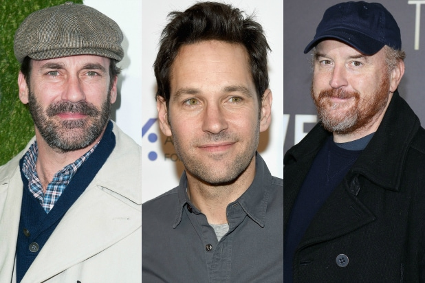 Jon Hamm Paul Rudd And Louis Ck Among Comedy Central S Night Of Too Many Stars Roster