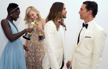 Lupita Nyong'o, Cate Blanchett, Jared Leto and Matthew McConaughey