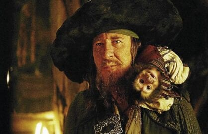 pirates geoffrey rush jack the monkey