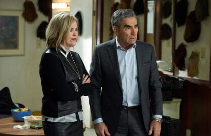 pop schitts creek Eugene Levy Catherine ohara