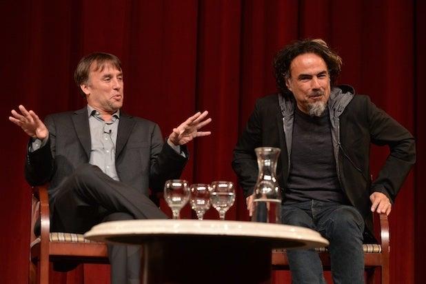 Richard Linklater and Alejandro G. Inarritu