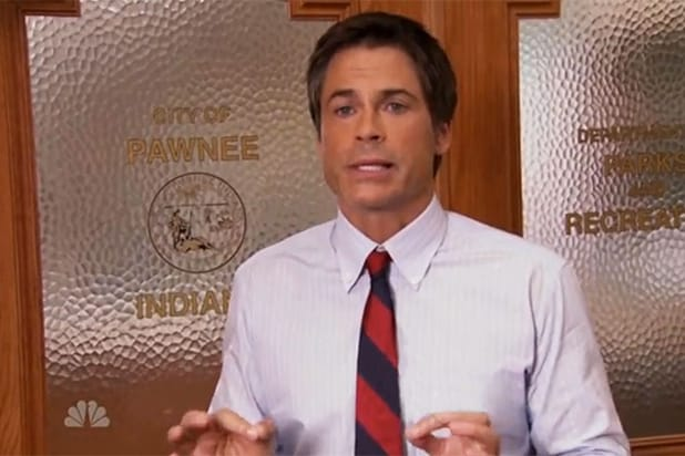Rob Lowe on Parks and Recreation
