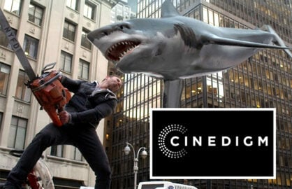 Cinedigm partners with The Asylum, Sharknado creators