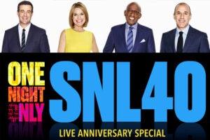 Carson Daly, Savannah Guthrie, Al Roker, Matt Lauer to host SNL red carpet