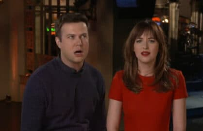 Taran Killam Dakota Johnson SNL