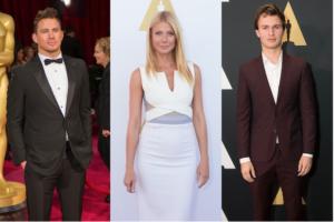 Channing Tatum, Gwyneth Paltrow and Ansel Elgort