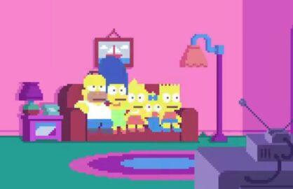 """Simpsons Pixels"""