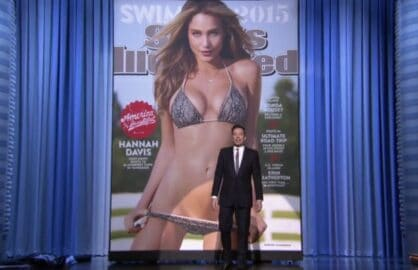 "2015 Sports Illustrated Swimsuit Cover revealed on ""The Tonight Show Starring Jimmy Fallon"""