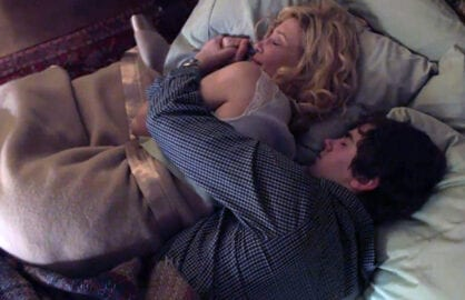 Freddie Highmore and Vera Farmiga on Bates Motel